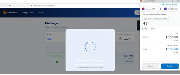 Here's How You Buy DAO1 on SafeSwap Once it Gets Listed